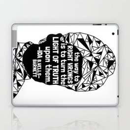 Ida B. Wells-Barnett - Black Lives Matter - Series - Black Voices Laptop & iPad Skin