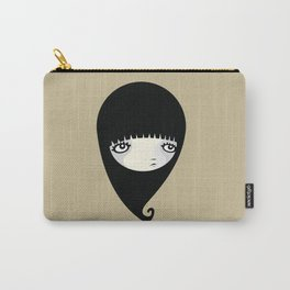 Black Drop Carry-All Pouch