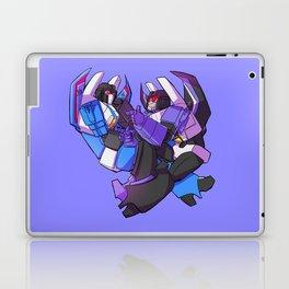 Loud jet and calm jet Laptop & iPad Skin