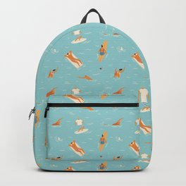 Blue Hawaii Backpack