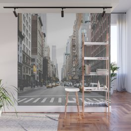 USA Photography - Street In New York City Wall Mural