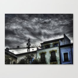 The storm is comming Canvas Print