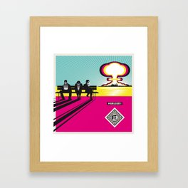 #Blind_and_death:) Framed Art Print