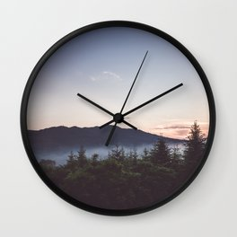 Night is coming Wall Clock