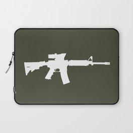 M4 Assault Rifle Laptop Sleeve