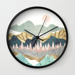 Summer Vista Wall Clock