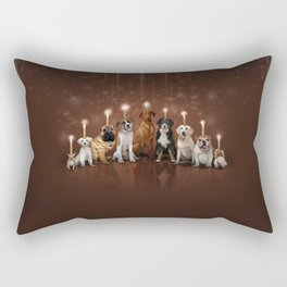 Hot Dog, It's Hanukkah! Rectangular Pillow
