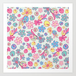BP 42 Flowers Art Print