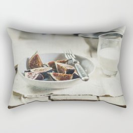 Breakfast with figs Rectangular Pillow
