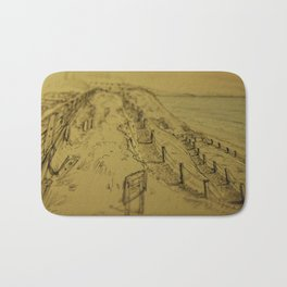 Beacons Sketch Bath Mat