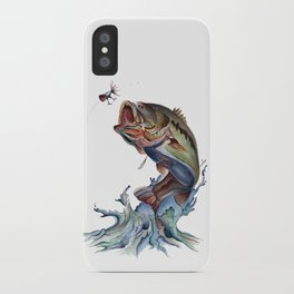 Bass Fish iPhone Case
