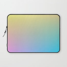 MELODY / Plain Soft Mood Color Tones Laptop Sleeve