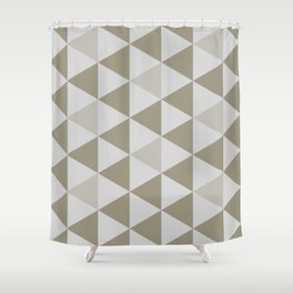 Great Triangle Pattern Shower Curtain