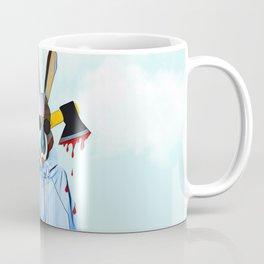 Cloudy Bunny with an axe Coffee Mug
