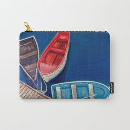 Rowboats in Rockport Harbor, Massachusetts Carry-All Pouch