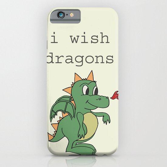 I wish dragons iPhone & iPod Case