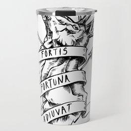 Fortis Fortuna Adiuvat Travel Mug