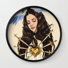"""The seven sorrows of Lana"" Wall Clock"