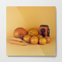 Orange carrots - still life Metal Print