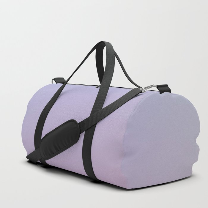 LAVENDER - Minimal Plain Soft Mood Color Blend Prints Duffle Bag