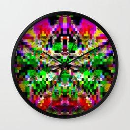 Cabsink16DesignerPatternASV Wall Clock