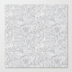 labyrinthe Canvas Print