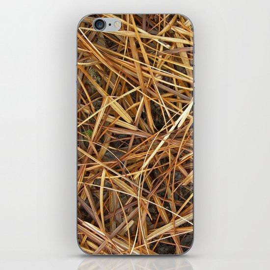 autumn straw I iPhone & iPod Skin