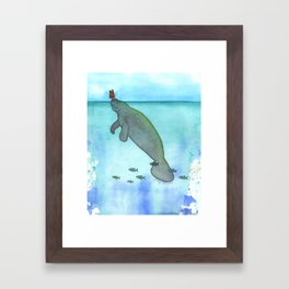Sunny Weather Friends Framed Art Print