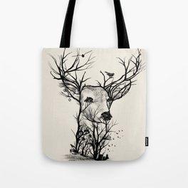 Wild Buck Tote Bag