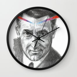 Cary Grant LSD Wall Clock