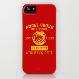 Angel Grove iPhone Case