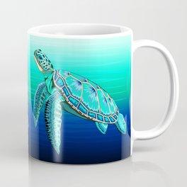 Sea Turtle Turquoise Oceanlife Coffee Mug
