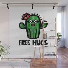 Free Hugs Wall Mural