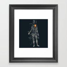 Travel With Me Framed Art Print