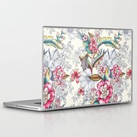 gemma correll Laptop & iPad Skins featuring Bird of Paradise by Gemma Hodgson Design