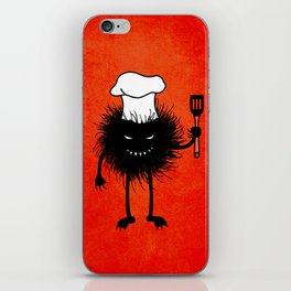 Evil Bug Chef Loves To Cook iPhone Skin