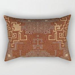 Maze I Rectangular Pillow