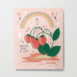 Sweeter kind of love Metal Print