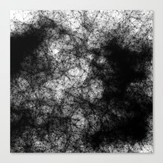 Artificial Constellation Dark Matter Canvas Print