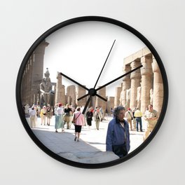 Temple of Luxor, no. 27 Wall Clock