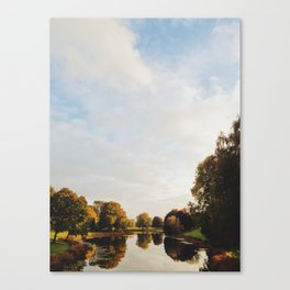 Lake Sacajawea Canvas Print