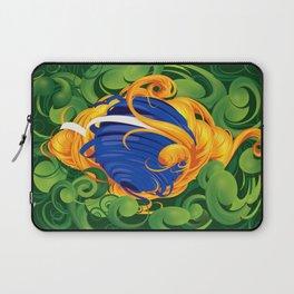 Brazilian Flag Laptop Sleeve