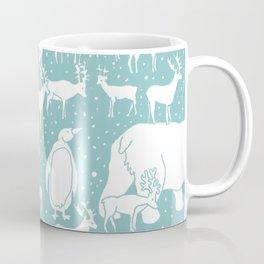 Polar gathering (peppermint) Coffee Mug