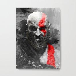 150 Kratos Paint Metal Print