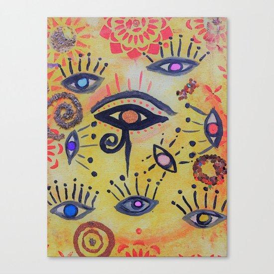BE VAST BE BRILLIANT Canvas Print