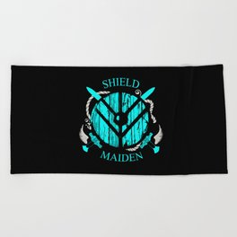 Valkyrie Girl Beach Towel
