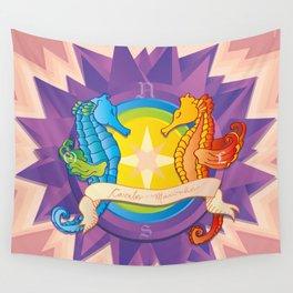 Cavalos Marinhos (Seahorses) Wall Tapestry