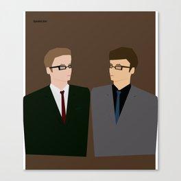 Man, Man Canvas Print