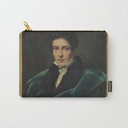 Alexandre Dubois-Drahonet - Portrait of Monsieur Gest Carry-All Pouch