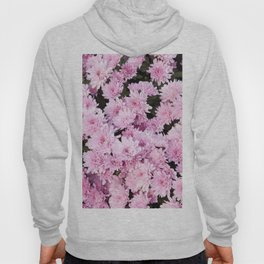 A Sea of Light Pink Chrysanthemums #1 #floral #art #Society6 Hoody